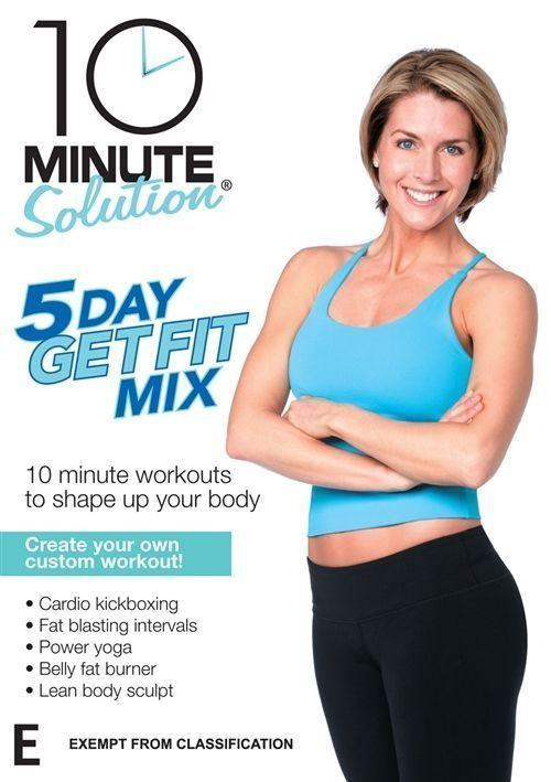 10 Minute Solution: 5 Day Get Fit Mix - Collage Video