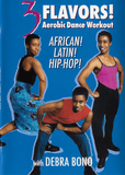 3 Flavors: Aerobic Dance Workout African, Latin and Hip Hop With Debra Bono - Collage Video