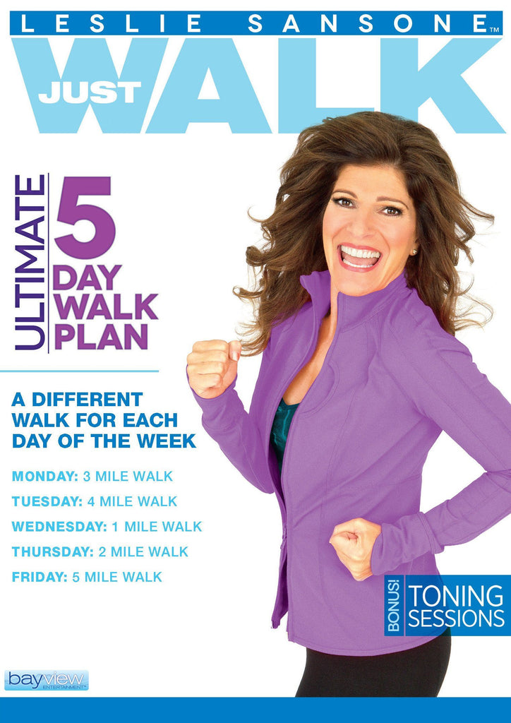Leslie Sansone: Ultimate 5 Day Walk Plan - Collage Video