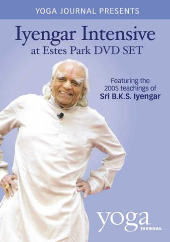 (50% Off!) Yoga Journal's Iyengar Intensive At Estes Park 5 DVD Set