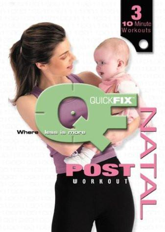 Quick Fix: Post-Natal Workout with Nancy Popp - Collage Video