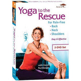 Yoga to the Rescue for Pain-Free Back, Neck & Shoulders (2-Pack) - Collage Video