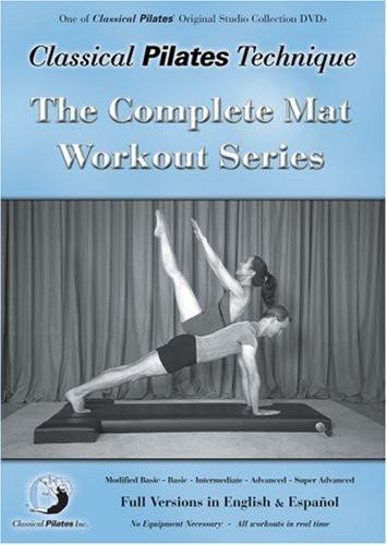 Classical Pilates Technique: Complete Mat Workout Series - Collage Video