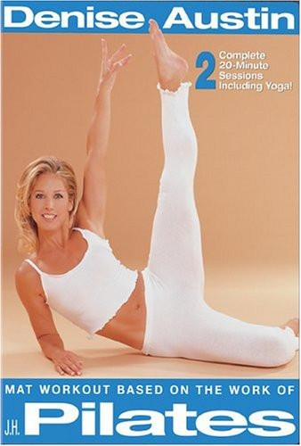 Denise Austin's J.H. Pilates Matwork - Collage Video