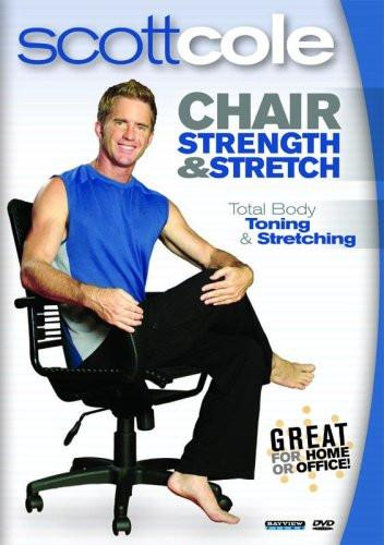 Chair Strength & Stretch With Scott Cole - Collage Video