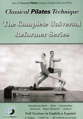 Classical Pilates Technique: Complete Universal Reformer Series - Collage Video