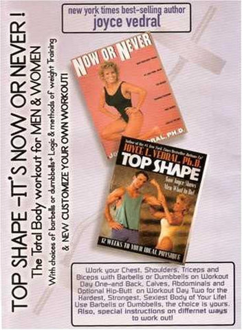 Joyce Vedral: Top Shape Total Body Workout (2 Workouts On 1 DVD)