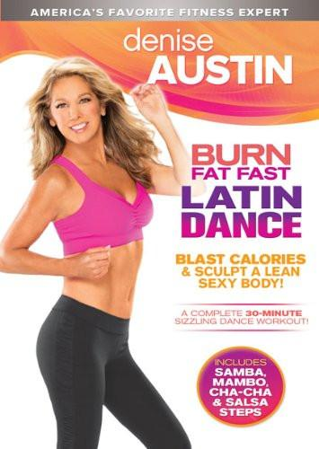 Denise Austin's Burn Fat Fast Latin Dance - Collage Video