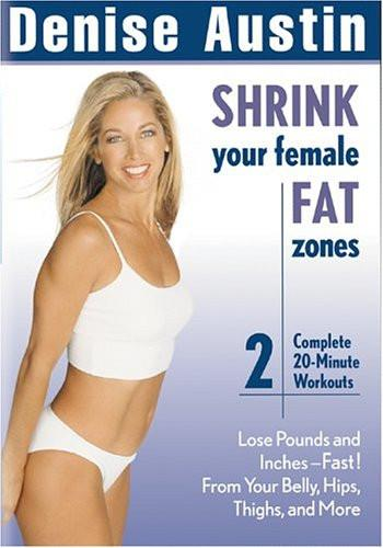 Denise Austin's Shrink Your Female Fat Zones - Collage Video
