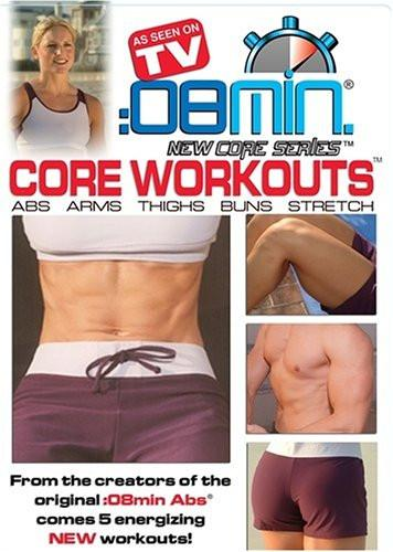 :08 Minute Core Workouts - Collage Video