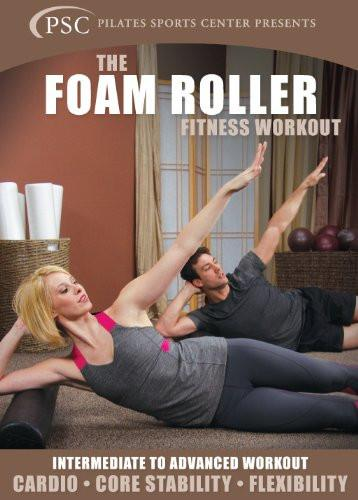 Foam Roller Fitness Workout - Collage Video