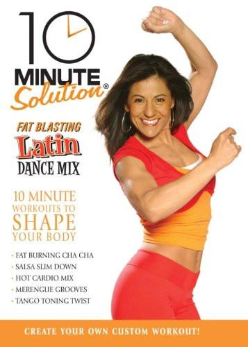 10 Minute Solution: Fat Blasting Latin Dance Mix - Collage Video