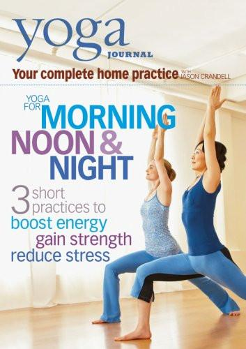 Yoga Journal: Yoga For Morning, Noon & Night With Jason Crandell - Collage Video