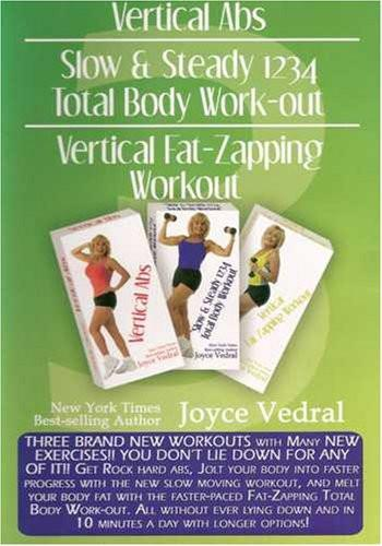 Joyce Vedral: Vertical Abs & Fat Zapping Workout (3 Workouts On 1 DVD) - Collage Video