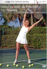Easy Power & Flexibility For Tennis With Anastasia - Collage Video