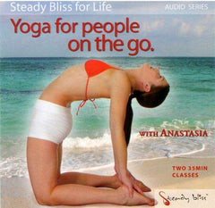 Yoga for People On The Go with Anastasia (Audio CD) - Collage Video