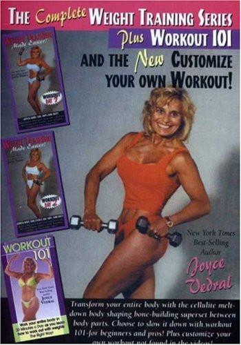 Joyce Vedral: Complete Weight Training Series With Joyce Vedral - Collage Video