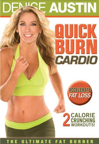 Denise Austin's Quick Burn Cardio - Collage Video