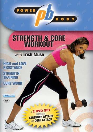 Power Body: Strength And Core Workout 2 DVD Set With Trish Muse