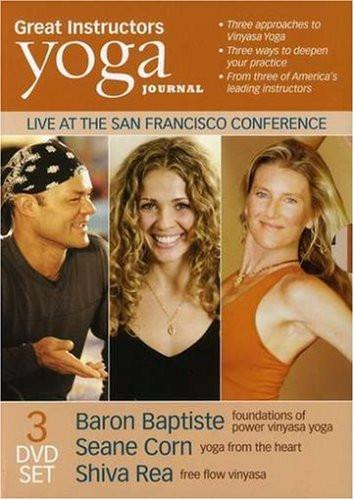 Yoga Journal: Great Instructors 3 Pk (Baron Baptiste, Shiva Rea, Seane Corn) - Collage Video