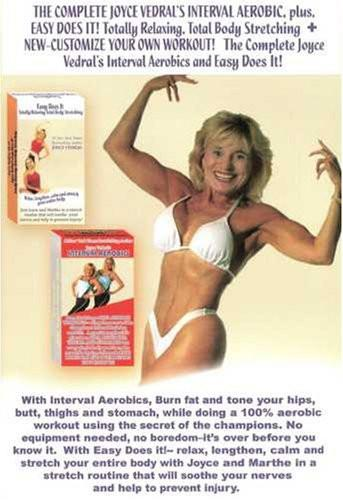Joyce Vedral: Complete Interval Aerobic - Collage Video