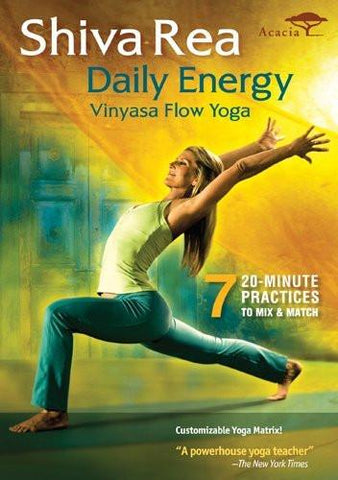 Shiva Rea's Daily Energy Vinyasa Flow Yoga
