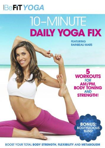 Befit Yoga: 10-Minute Daily Yoga Fix - Collage Video