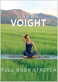 Karen Voight: Full Body Stretch - Collage Video
