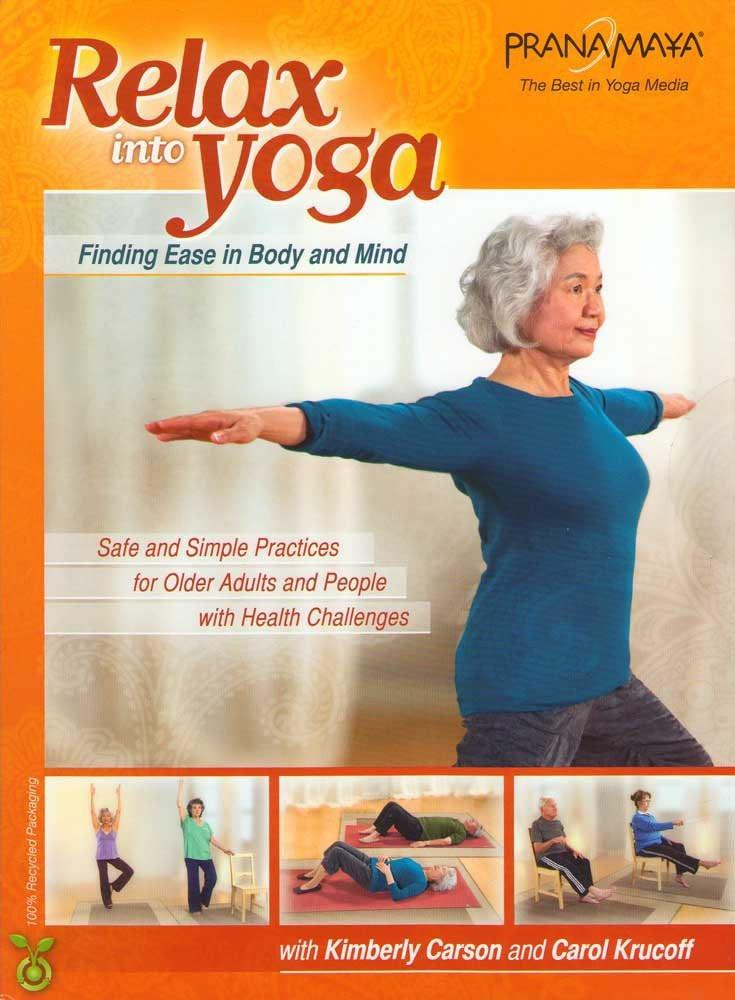 Pranamaya: Relax Into Yoga Safe And Simple Practices For Older Adults - Collage Video