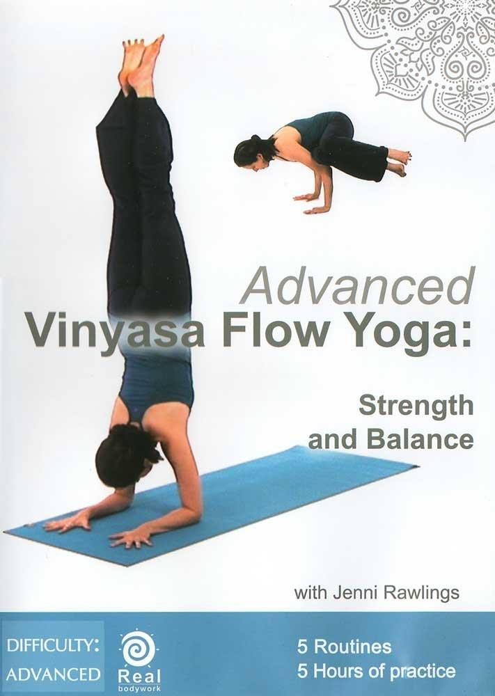 Advanced Vinyasa Flow Yoga: Strength And Balance - Collage Video