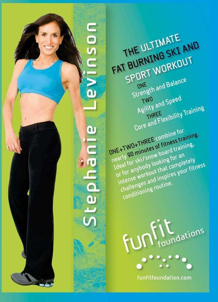 Ultimate Fat Burning Ski & Sport Workout With Stephanie Levinson - Collage Video