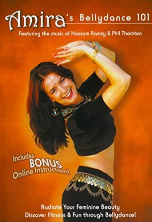 Amira's Bellydance 101 Belly Dancing Basics For Beginners - Collage Video