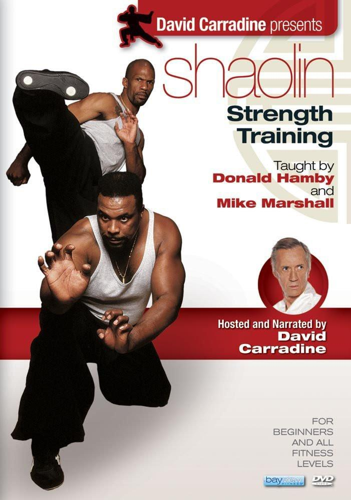 David Carradine's Shaolin Strength Training - Collage Video