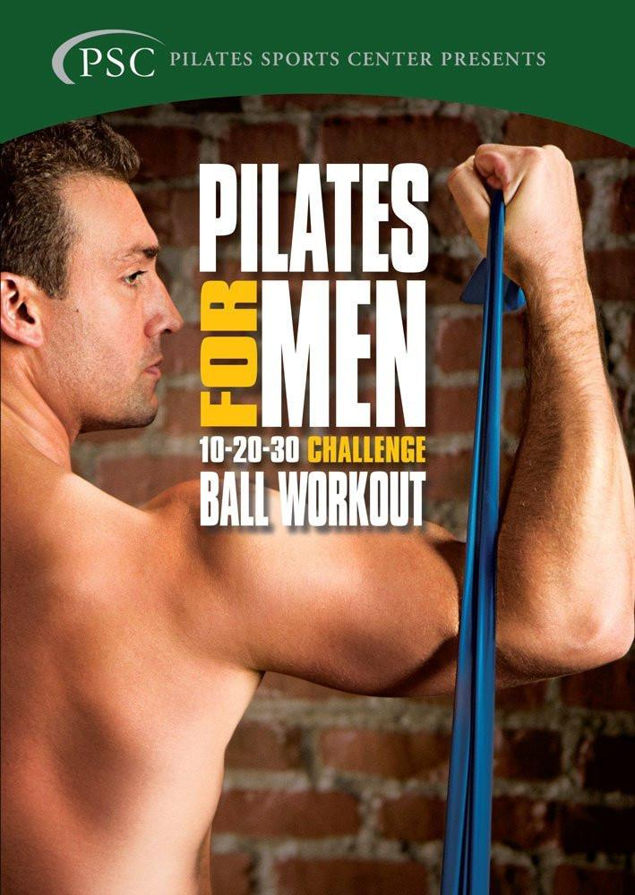 Pilates For Men 3: Challenge Ball Workout - Collage Video