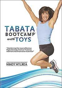 Mindy Mylrea: Tabata Bootcamp with Toys - 4 Minute HIIT Workouts - Collage Video
