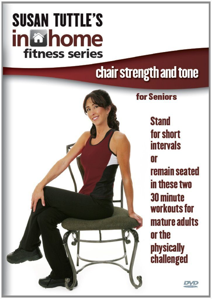 Susan Tuttle's In Home Fitness: Chair Strength And Tone For Seniors - Collage Video