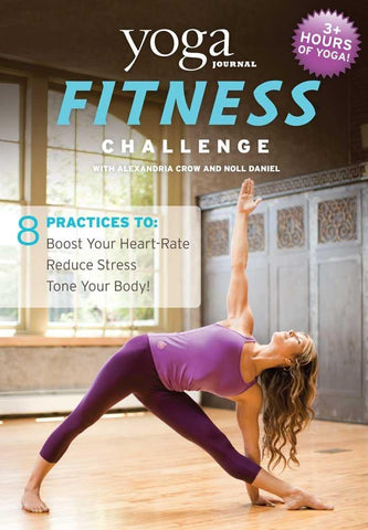 Yoga Journal: Fitness Challenge (3-DVD Set)