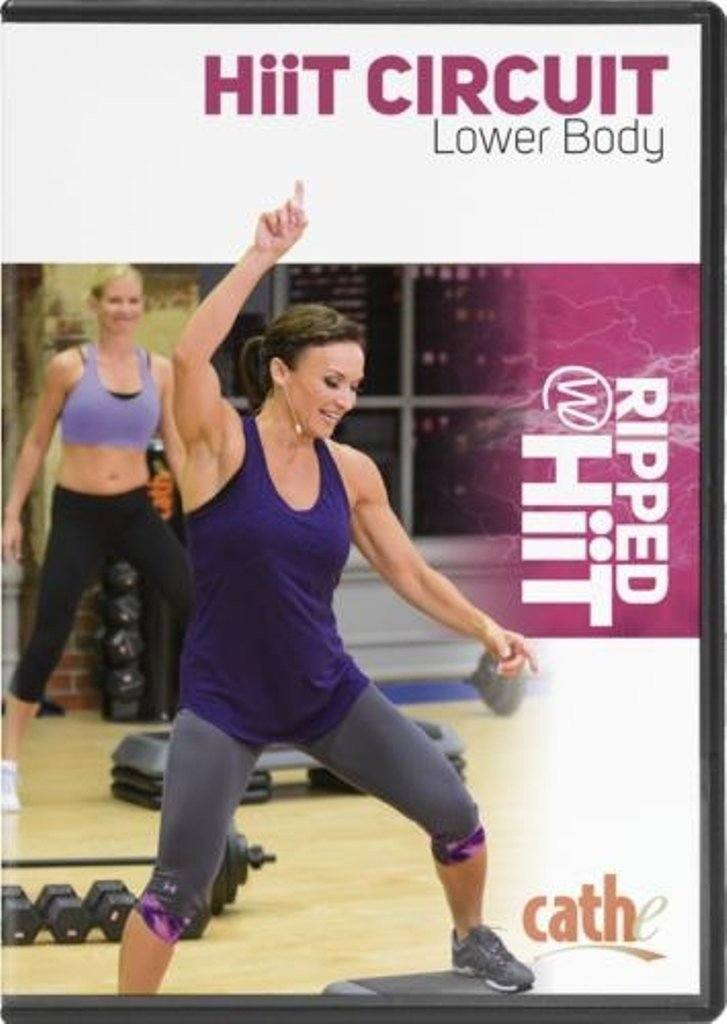 Cathe Friedrich's Ripped with HiiT: HiiT Circuit Lower Body - Collage Video