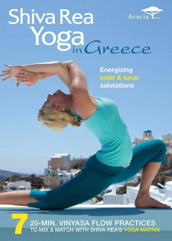 Shiva Rea's Yoga in Greece - Collage Video