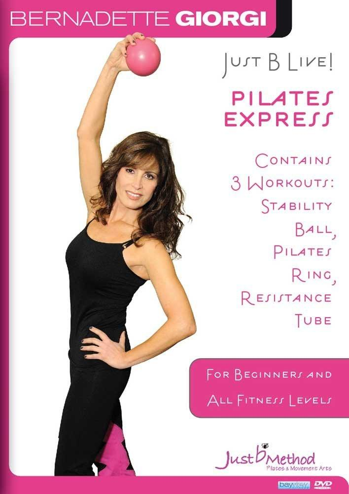 Bernadette Giorgi's Just B Live Pilates Express - Collage Video