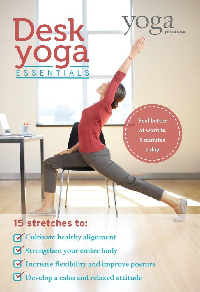 Desk Yoga Essentials by Yoga Journal - Collage Video