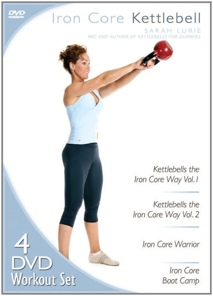 Iron Core Kettlebell with Sarah Lurie - Collage Video