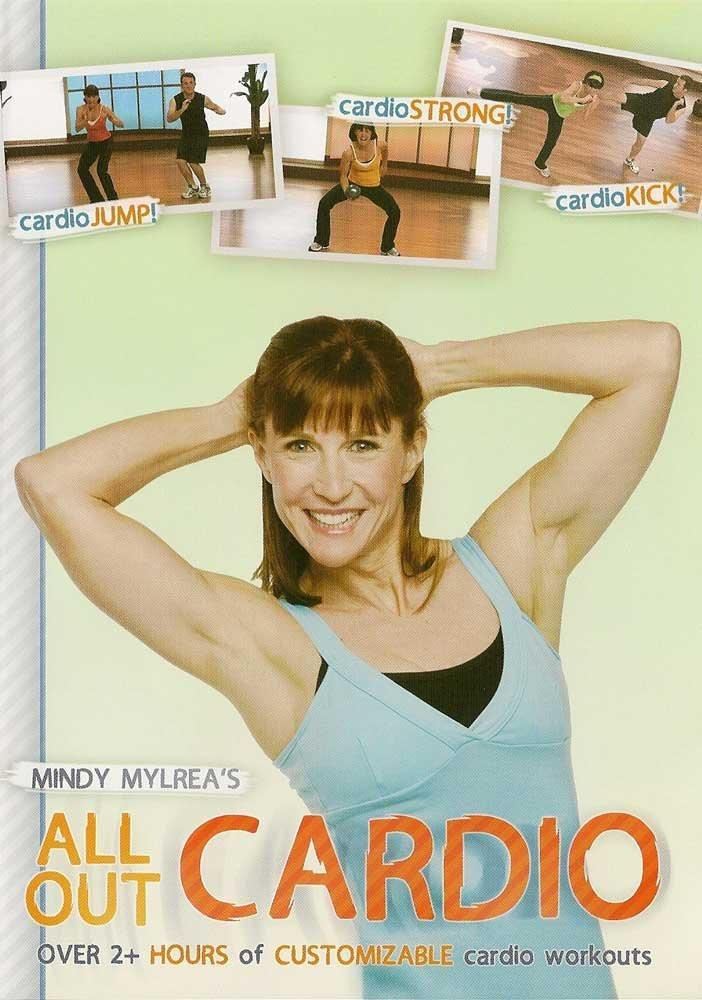 Mindy Mylrea's All Out Cardio - Collage Video
