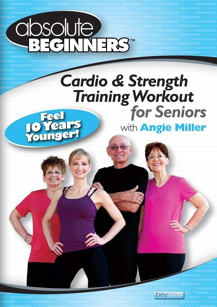 Angie Miller's Cardio & Strength Training for Seniors - Absolute Beginners Series