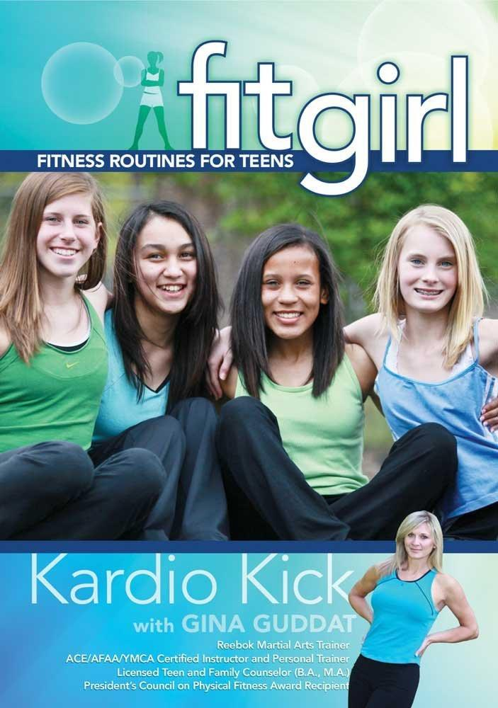 Fitgirl: Kardio Kick With Gina Guddat - Collage Video