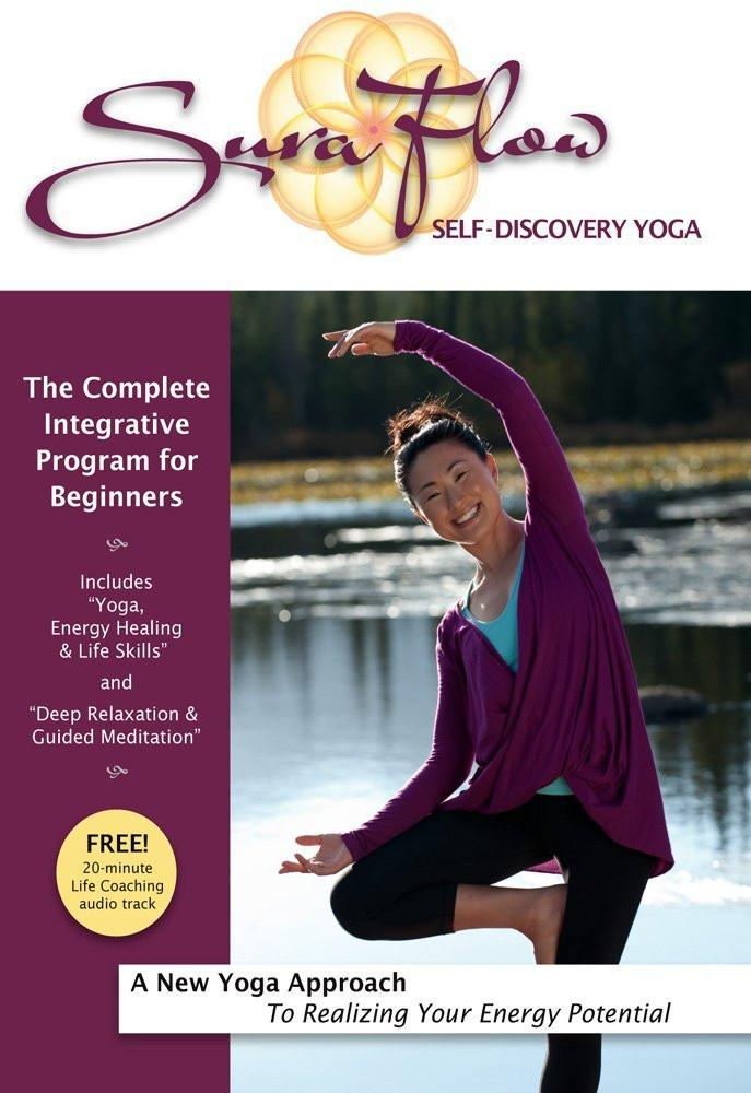 "Sura Flow Yoga: Complete Beginners Program ""Energy Healing, Yoga & Meditation"" - Collage Video"