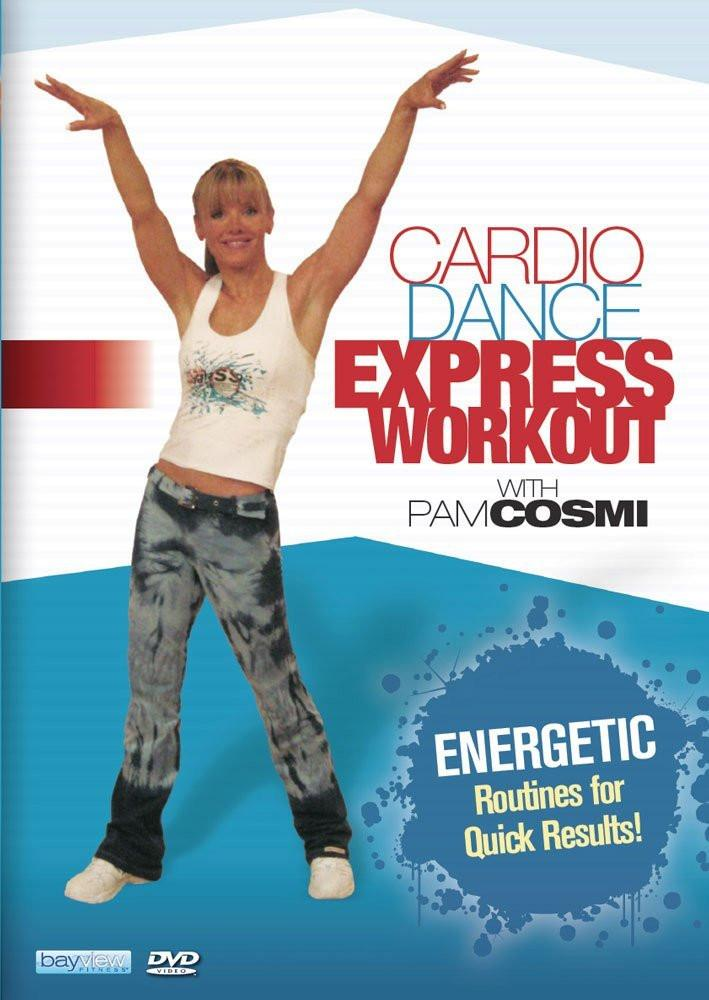 Cardio Dance Express Workout With Pam Cosmi - Collage Video