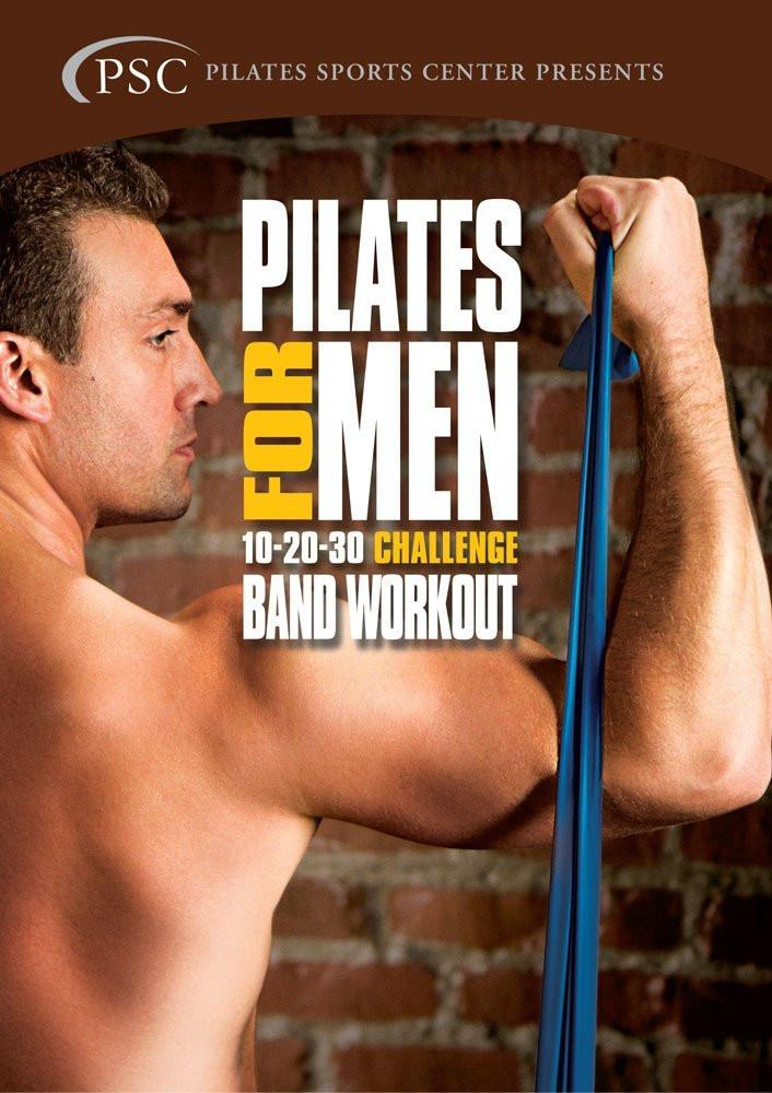 Pilates For Men  2: Challenge Band Workout - Collage Video