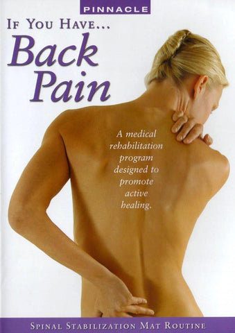 If You Have Backpain