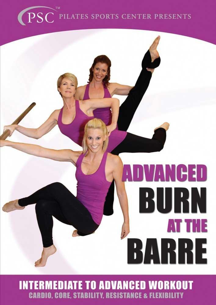 Burn At The Barre Intermediate To Advanced Workout - Collage Video